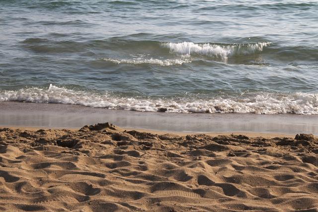 Beach, Sea, Sand, Salt Water, Wave, Surf, Water, Turkey