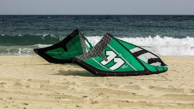 Kite Surf, Extreme, Sport, Equipment, Surfing, Sea