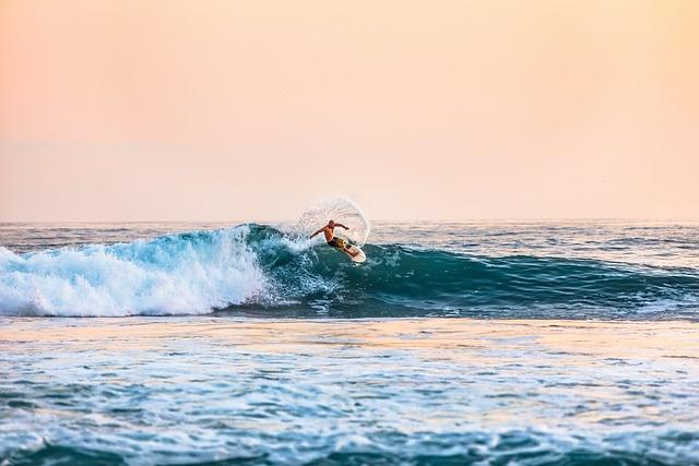 Beach, Man, Ocean, Person, Sea, Sport, Surfer, Surfing