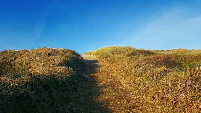 Beach, Texel, Nederland, De Koog, Sky, Sea