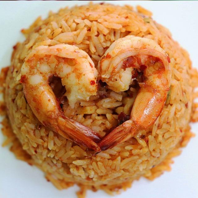 Fried Rice, Tom Yum Kum, Restaurant, Shrimp, Sea, Food