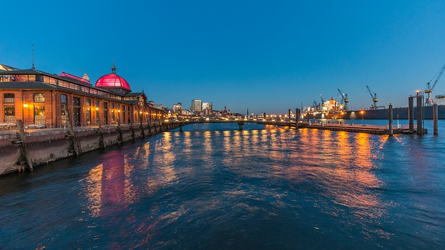 Waters, Travel, Reflection, Sunset, Bridge, Sea, Dawn