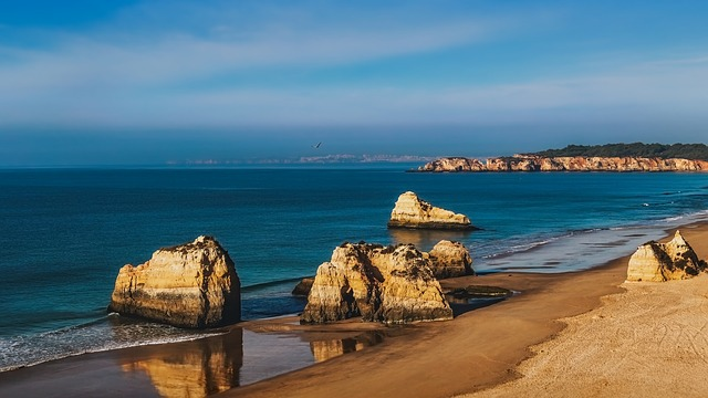 Algarve, Beach, Water, Sea, Travel, Seashore, Vacation