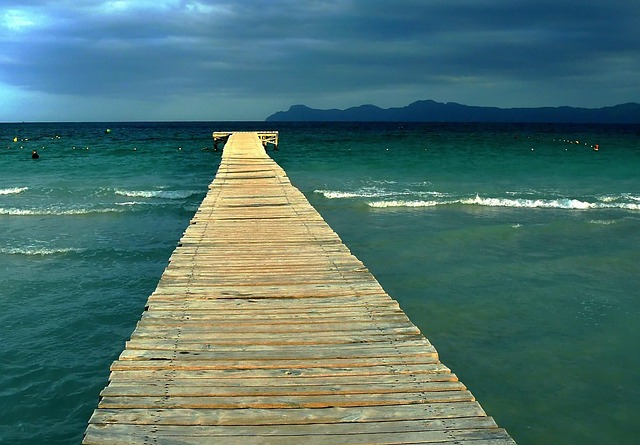 Sea, Beach, Wave, Clouds, Abendstimmung, Water, Lake