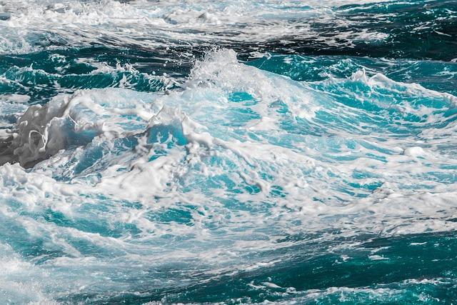 Water, Wave, Sea, Surf, Nature, Foam, Spray
