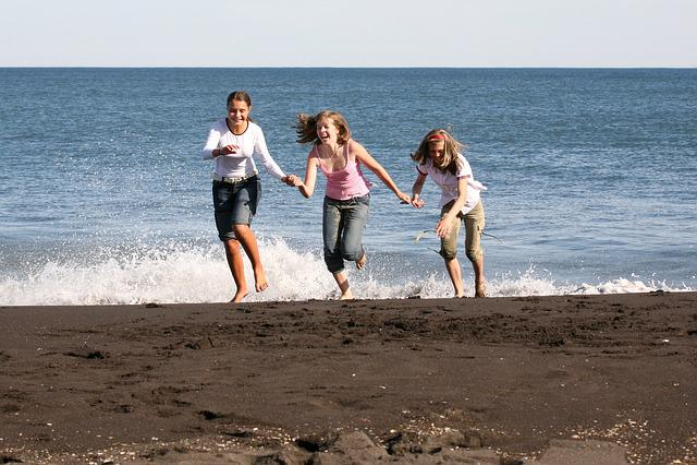 Ocean, Wave, Sky, Beach, Coast, Sea, Seascape, Sand