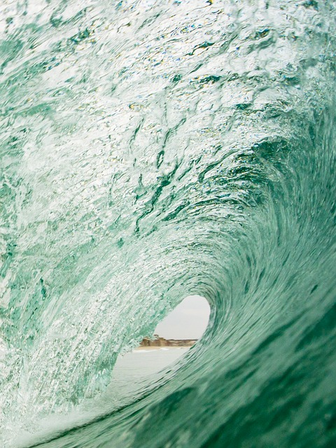 Water, Green, Golf, Surf, Sea, Portugal, Holiday, Waves