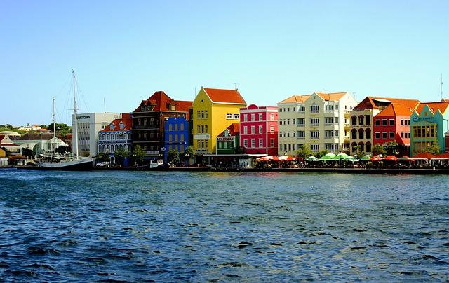 Free Photo Curacao Sint Annabaai Willemstad Punda Abc