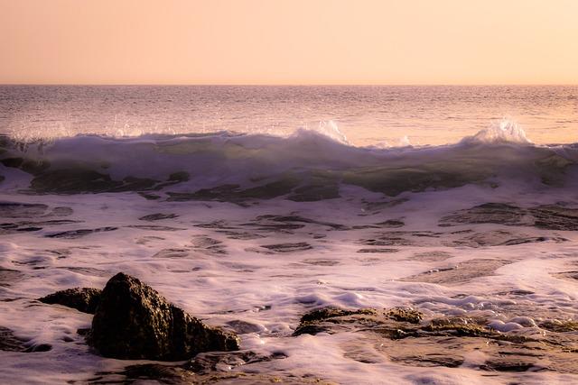 Wave, Beach, Sea, Spray, Nature, Foam, Wind