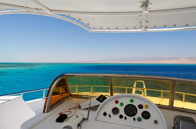 Egypt, Red Sea, Sea, Yacht