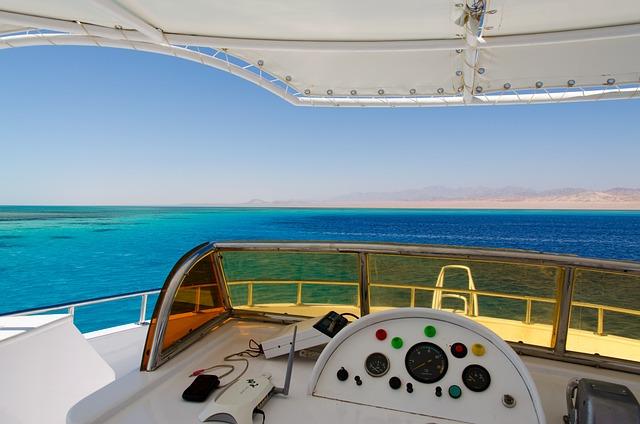 Egypt, Red Sea, Sea, Yacht