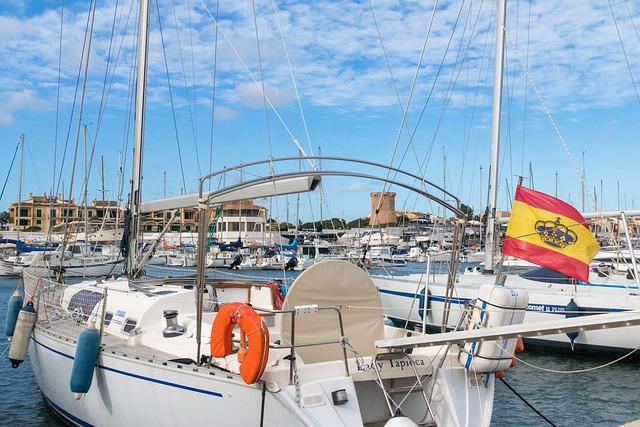 Mallorca, Sa Ràpita, Yacht, Sea, Port, Sailing Boat
