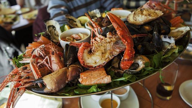 United Kingdom, Scotland, Auburn, Seafood, Lobster