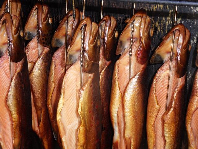 Food, Market, Background, Gourmet, Seafood
