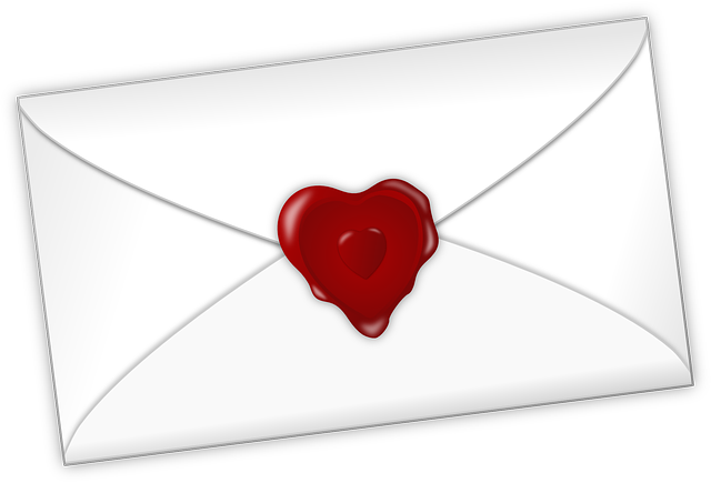 Heart, Letter, Love, Mail, Valentine, Seal, Romantic