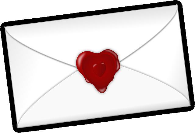 Heart, Letter, Love, Mail, Valentine, Seal, Romantic