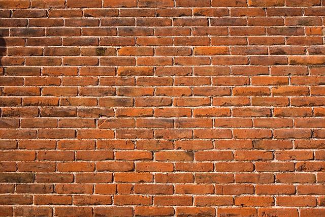 Brick Wall, Red Brick Wall, Wall, Masonry, Seam, Mortar