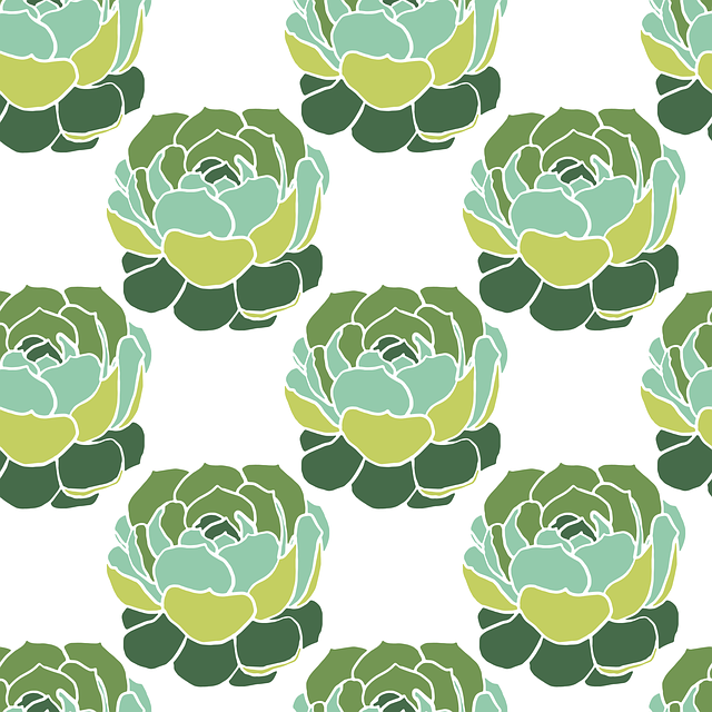 Cactus, Pattern, Background, Texture, Seamless Pattern