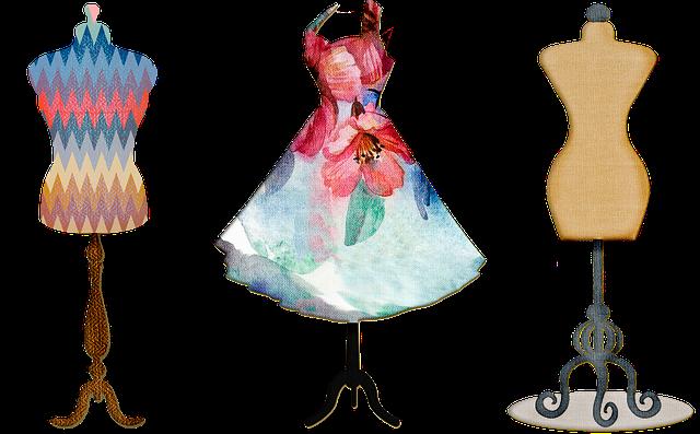 Dress Form, Sewing, Seamstress, Vintage, Decorative