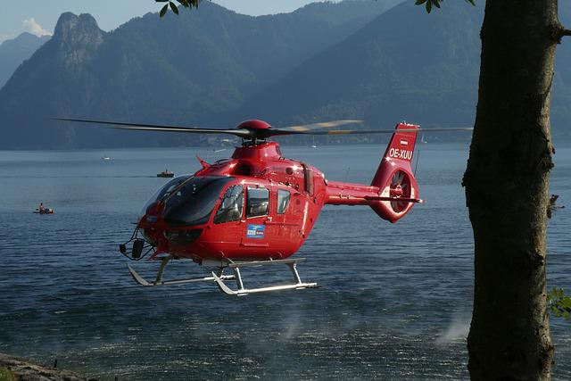 Search And Rescue Helicopter, Bergrettung, Help, Rescue