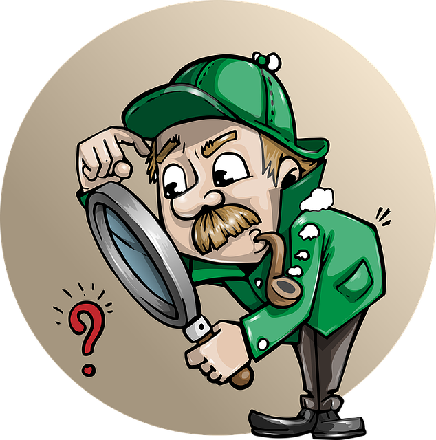 Detective, Searching, Man, Search, Magnifying