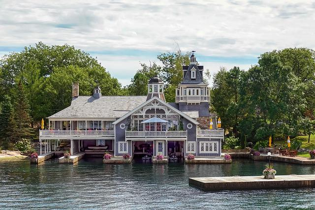 House, Home, Boats, Boat House, River, Water, Seascape