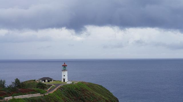 Lighthouse, Sea, Water, Seashore, Nature