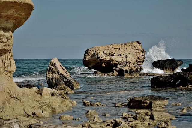 Rocky Coast, Rock, Seashore, Sea, Nature, Geology