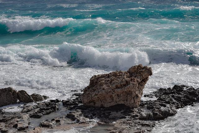 Sea, Water, Waves, Seashore, Beach, Rock, Seascape