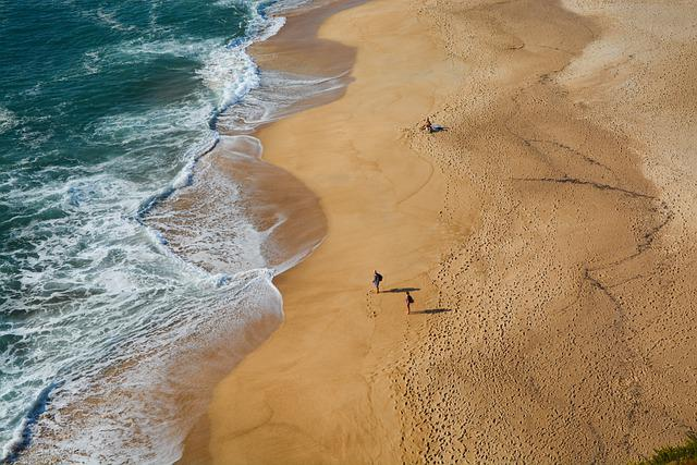 Beach, Sea, Waves, Sand, Sandy Beach, Shore, Seashore