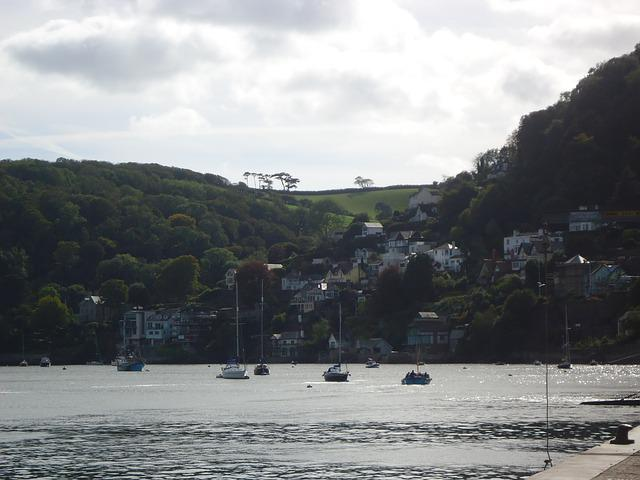 Dartmouth, Devon, Seaside, Boats, Landscape, Sea