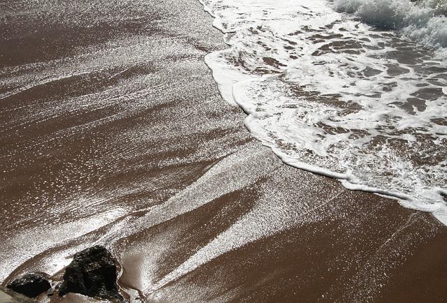 Wave, Pierre, Sand, Ocean, Seascape, Maritime, Seaside