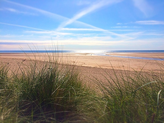 Alnmouth, Northumberland, Seaside, Beach, Sunny Day