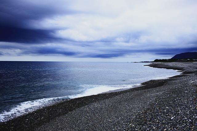 Triple, Shichirimihama, Sea, Seaside, Blue, Beach