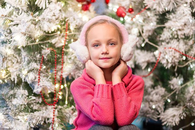 Child, Girl, Pretty, Christmas, People, Season