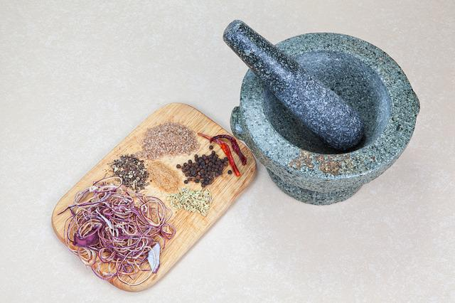 Mortar, Spices, Season, Food, Cook, Benefit From