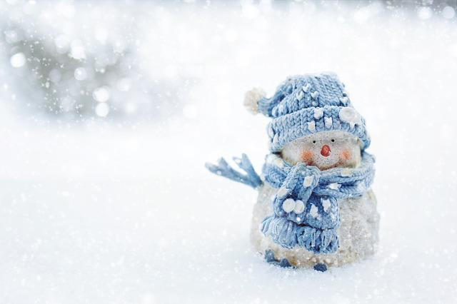 Snowman, Winter, Snow, Snowy, Season, Cold, Cute