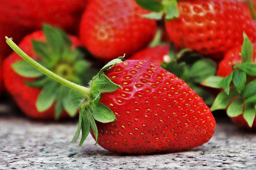 Strawberries, Season, Spring, Fruit, Eating, Healthy
