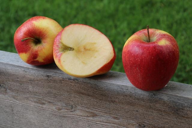 Apples, Red, Bio, Seasons Of The Year, Sweet