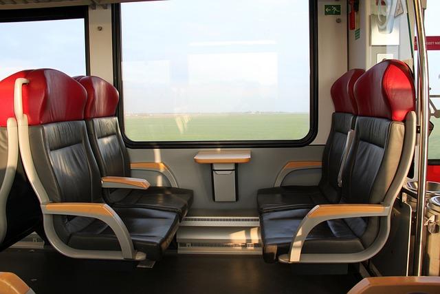 Arriva Spurt, Train, Interior, Seating, Netherlands