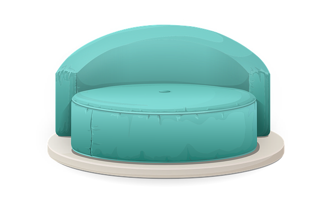 Sofa, Blue, Chairs, Seating, Empty, Seats, Furnitures