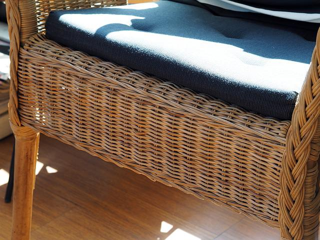 Chair, Wai, Seats, Cushions, Weave, Woven