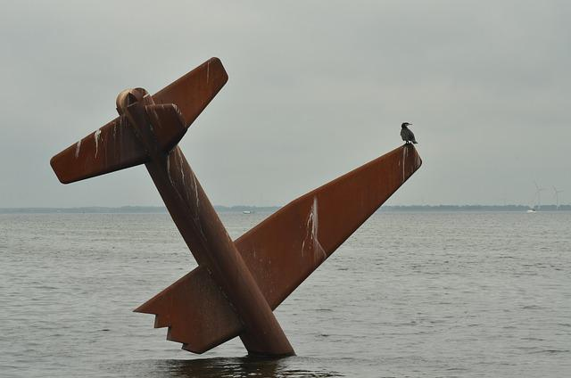 Plane, Crash, War, Second World War, Allies, Monument