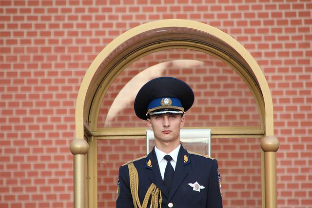 Moscow, Kremlin, Guard, Security Guard