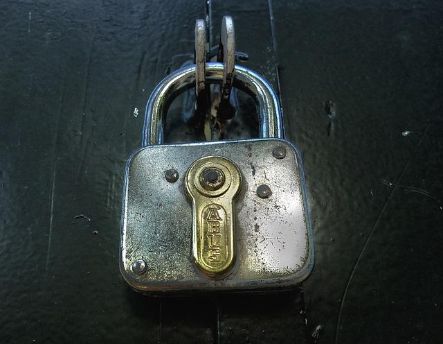Lock, Padlock, Security, Safety, Safeguard, Protection