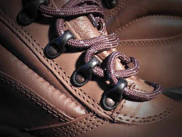 Buskin, Security Shoes, Leather, Cords