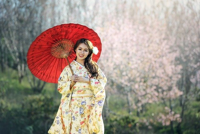 Beauty, Geisha, Asia, Seductive, Pretty, Bridal