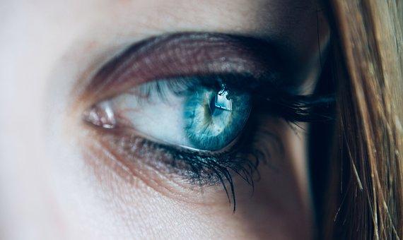 Close-up, Eye, Eyelashes, See, Woman