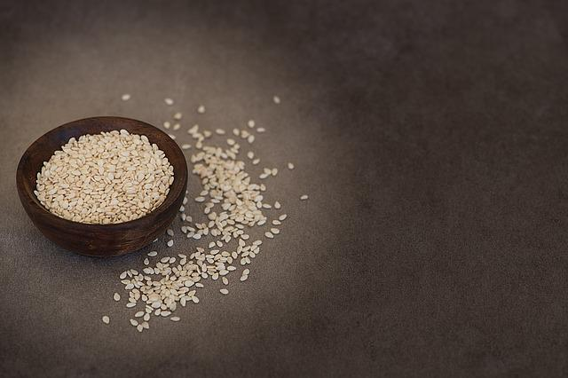 Sesame, Sesame Seeds, Seeds, Natural Product, Food