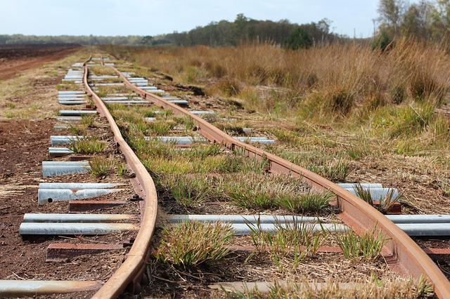 Railway Rails, Seemed, Track, Nature, Endless